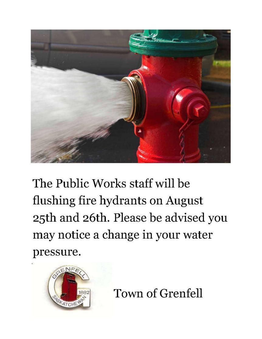 Water Flushing