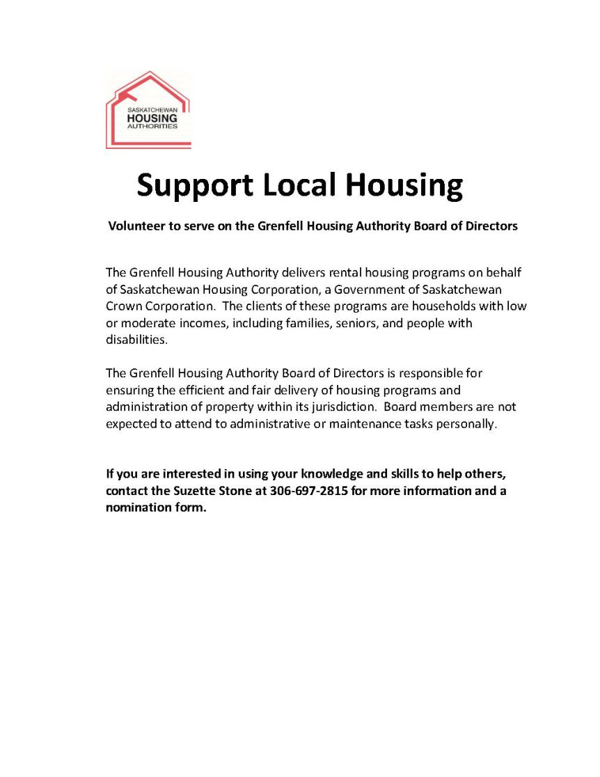2017 03 28 Recruiting Housing Authority Board of Directors 2015 12